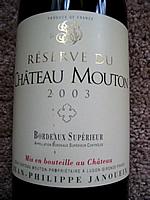 Château Mouton Jean-Philippe Janoueix