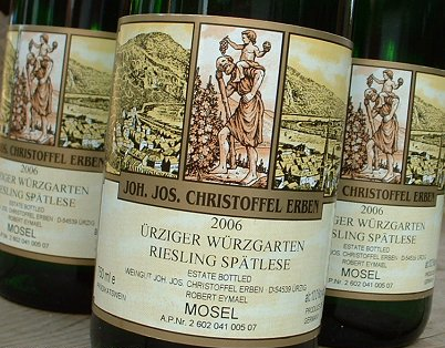 Joh. Jos. Christoffel Erben Urziger Wurzgarten Riesling Kabinett