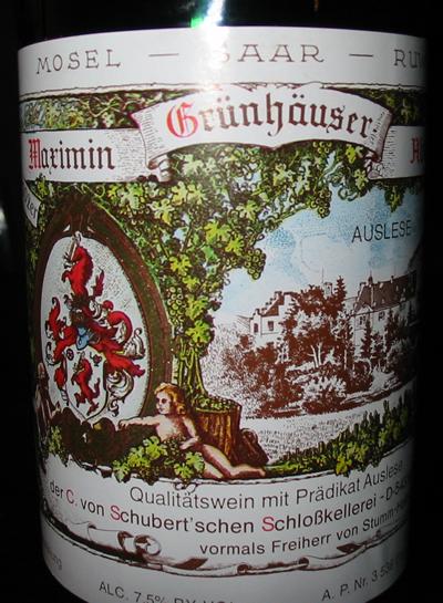 Marimin Grunhauser Abtssberg - Auselse
